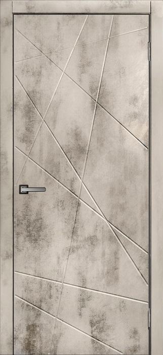 Дверь МДФ Бетон-1