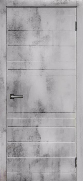 Дверь МДФ Бетон-2
