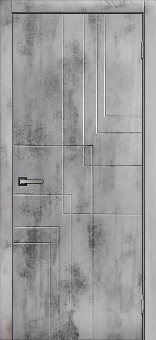 Дверь МДФ Бетон-3